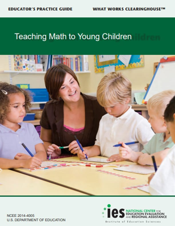 IES Practice Guide: Teaching Math to Young Children