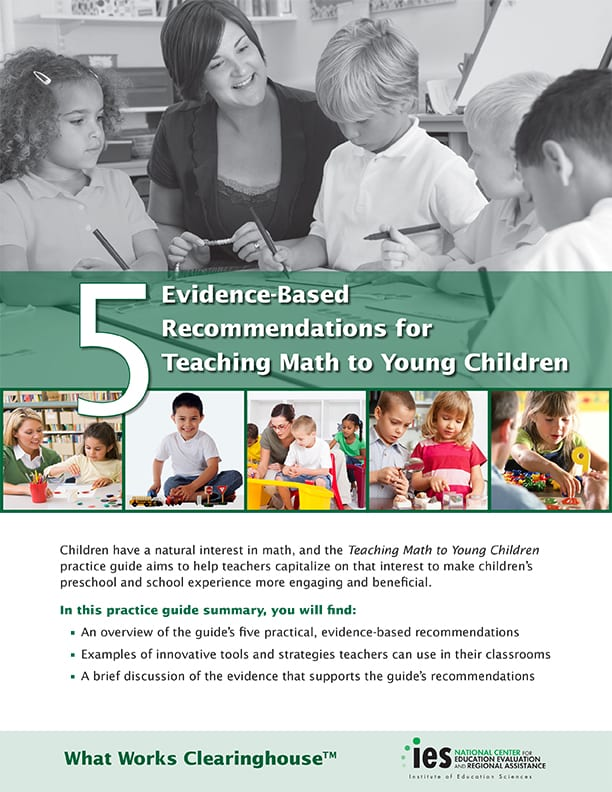 Early Childhood Math: Geometry, Patterns, Measurements, and Data Analys