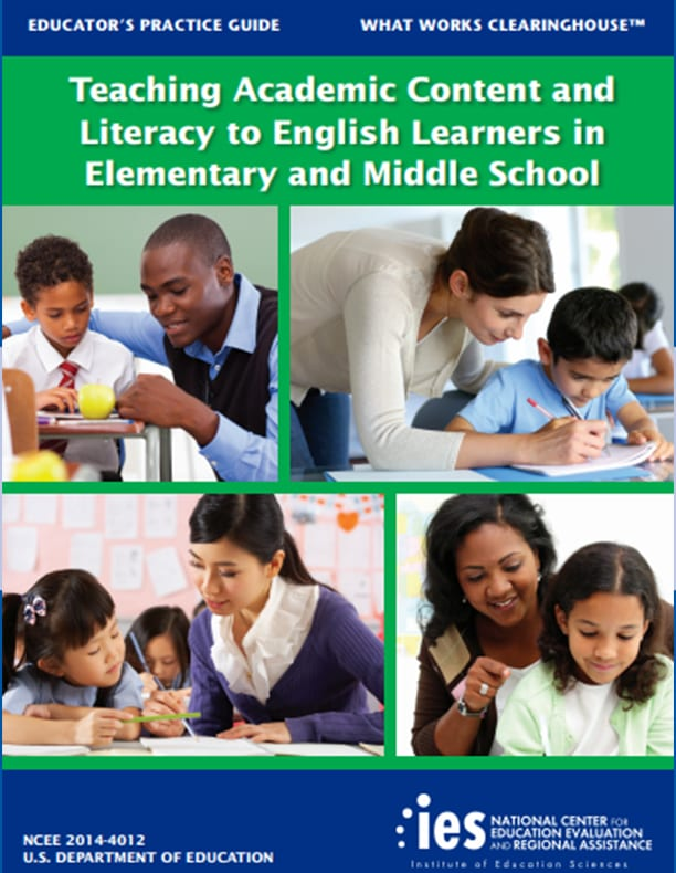 Teaching Academic Content and Literacy to English Learners in Elementary and Middle School.