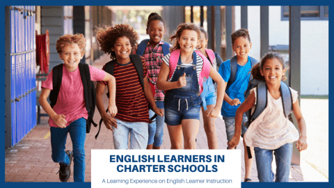 Picture from the resource: Children in Charter School Running