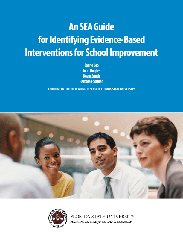 An SEA Guide for Identifying Evidence-Based Interventions for School Improvement